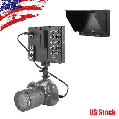 VILTROX DC-70EX 7''Clip-on LCD Camera Monitor Viewer 1024×600Pixels fCanon DSLRs