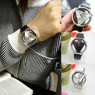 Leather Band Wrist Watch Watches Analog Quartz Stainless Steel Casual Fashion