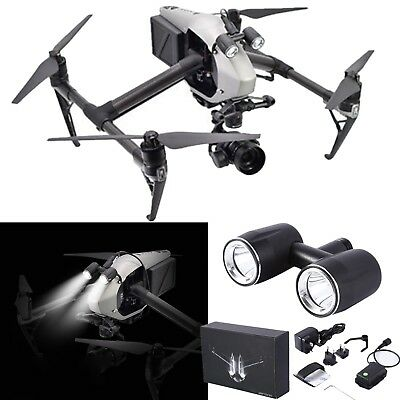 Night Flight Lights Cree T6 LED Headlamp for DJI Inspire 2 Drone Light Accessory