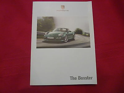 2011  Porsche Boxster and Boxster S Brochure 125 pages