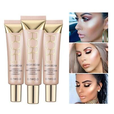 Facial Skin Oil-Control Moisturizing Foundation Liquid Highlighter Cream Makeup