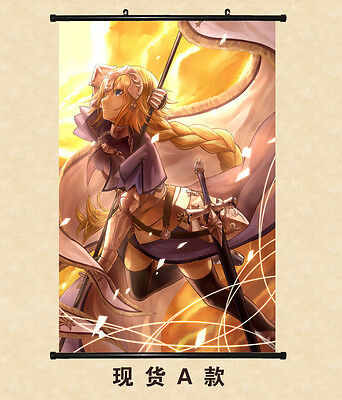 Fate/Apocrypha Joan Home Decor Poster Wall Scroll 60*90 Painting