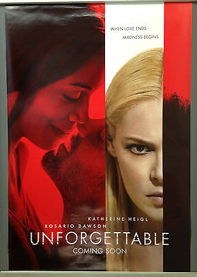 Cinema Poster: UNFORGETTABLE 2017 (Advance One Sheet) Rosario Dawson