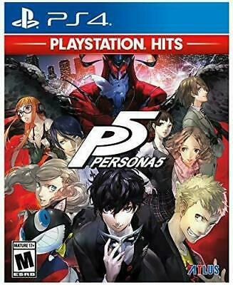 Persona 5 PS4 Playstation 4 Game Brand New In Stock From Brisbane
