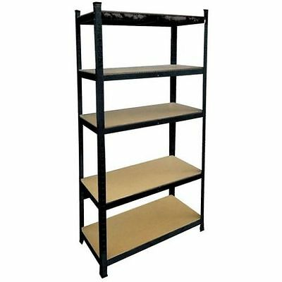Shelving Unit Heavy Duty 5 Tier Shelf Steel Rack Garage Warehouse Storeroom New