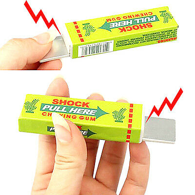 Rigide Chewing-gum Blague Gadget Electrique Tricky Canular Gag Grôle Jouet Party