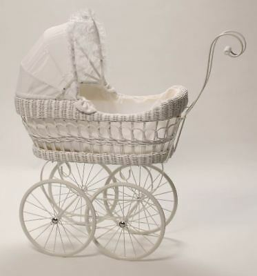 Cane Dolls Pram Play Pretend