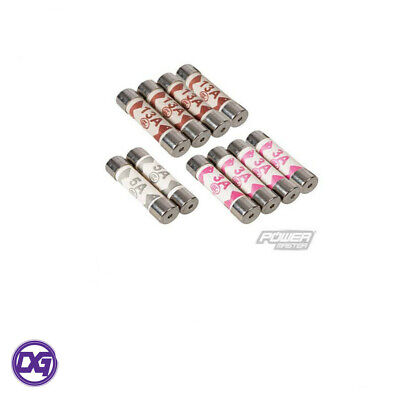 10PC Mixed Replacement Cartridge Fuses for Domestic Plugs Top Mains
