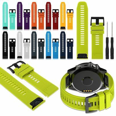 Replacement Silicagel Quick Install Band Strap Fits Garmin Fenix 5/5X GPS Watch