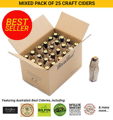 Australian Craft Cider Mixed Case Exclusive Offer 25 ciders x 330ml