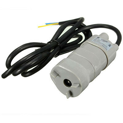 12V DC 1.2A Micro Submersible Water Pump High Lift 14L/M Max Suction 5M HCXM