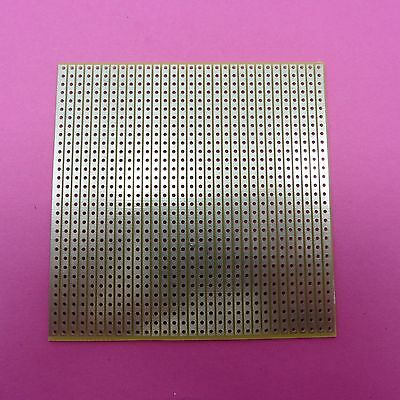 8 x 8cm Soldering Universal Circuit Board Stripboard Glass Fiber 2.54mm PCB