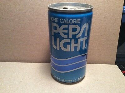 Pepsi Light One Calorie Vintage Can