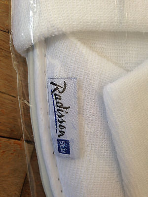 Radisson Hotel slippers 2017 one size fits all two pairs