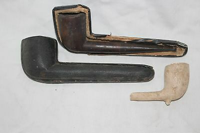 Vintage Demuth Tobacco Estate Smoking Pipe in Case + Extra