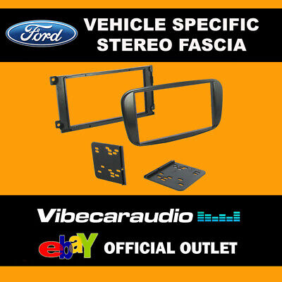 Ford Galaxy 2006 - Stereo Double Din Fascia Facia Panel Plate Kit CT23FD33