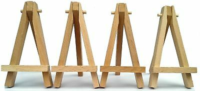 100X Display Easel Artist Stand Wooden Wedding Place Name Holder Table Number