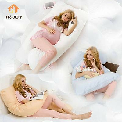 Oversized U Shape Pillow Nursing Pregnancy Maternity Boyfriend Full Body Support