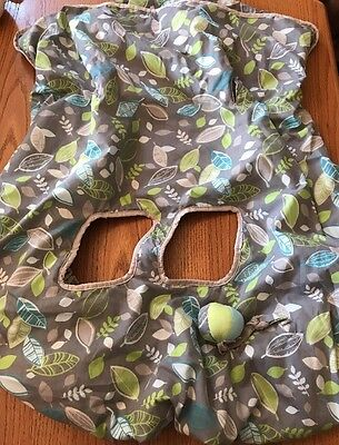 Eddie Bauer Shopping Cart Seat Cover For Babies, Nice!
