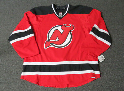 huge selection of c3fe0 22d09 NEW NEW JERSEY Devils Authentic Team Issued Reebok Edge 2.0 Hockey Jersey  NHL