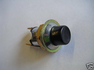 Push Button Horn/Starter Type Switch Momentary On 10A