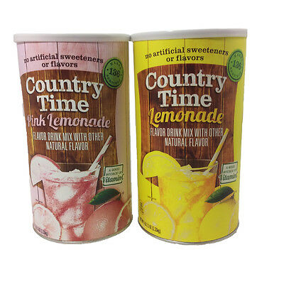 "Stash Can Country time Lemonade  ""DIVERSION HOME SAFE HIDE HERBAL CASH JEWELRY"""