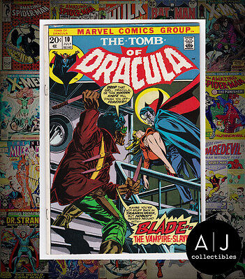 Tomb of Dracula #10 (W Marvel W) FN! HIGH RES SCANS!