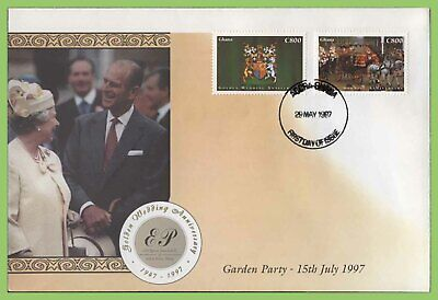 Ghana 1997 Golden Wedding Anniversary First Day Cover
