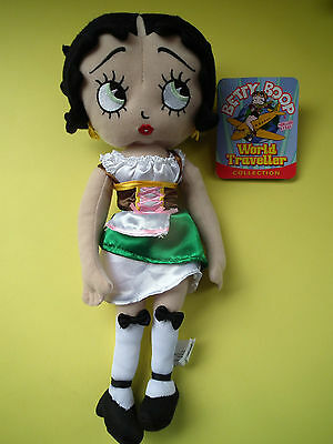 "Betty Boop World Traveller Collection 2011 Sugar Loaf 16"" Germany w Tags"