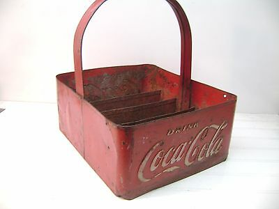 Vintage Coca Cola Stadium Vendor 6 1/2 Ounce Bottle Carrier , Free Shipping