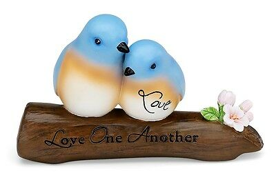 "NEW ""LOVE"" 3"" BLUEBIRDS ON A BRANCH #52031 from PEACE, LOVE & BIRDS"