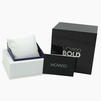 New MOVADO BOLD Presentation Gift Watch Box