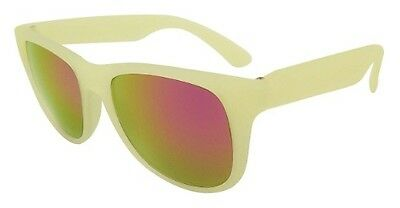Kiddus UV400 Colour Change Sunglasses (Pink/Yellow)