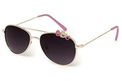 Kiddus UV400 Fabulous Hearts Sunglasses (Pink)