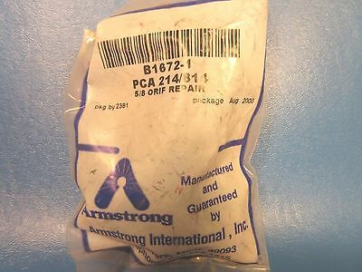 Armstrong B1672-1 Bucket Mechanism & Seat, PCA 214/811, 5/8 Orif Repair