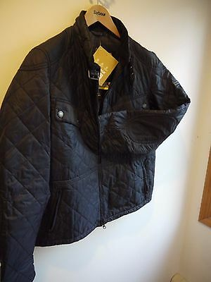 Barbour International Skyline Jacket, Navy Blue, New With Tags, XL