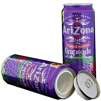 "Arizona Grapeade Stash Can  ""DIVERSION HOME SAFE HIDE HERBAL CASH JEWELRY"""