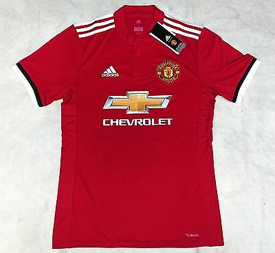 Authentic adidas Manchester United Soccer Jersey 17/18 Season