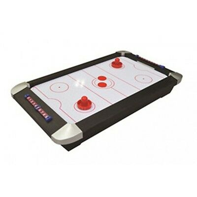 """20318  21"""" Tabletop Air Hockey Game with 2 Pucks & 2 Pushers"""