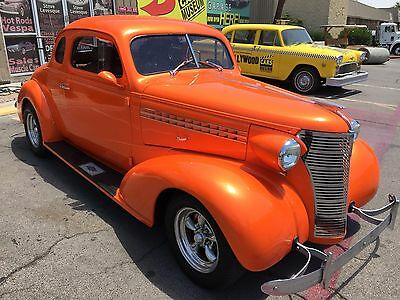 1938 Chevrolet Coupe Street Rod 1938 Chevrolet Coupe Resto-Mod Hot Rod - Tangelo Pearl - AC- Loaded !