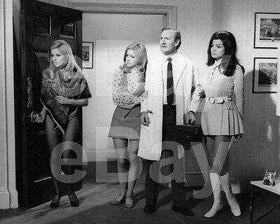 Doctor In Trouble (1970) Luan Peters Donna Reading Leslie Phillips 10x8 Photo