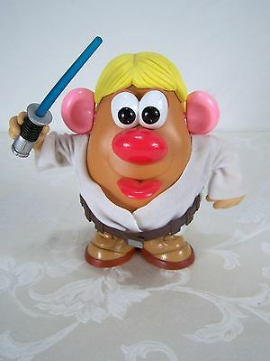 Mr. Potato Head Luke Skywalker Star Wars Toy Lightsaber