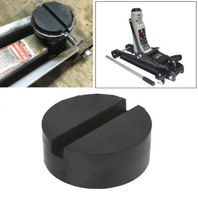 Top Quality Trolley Floor Jack Disk Pad Adapter Rubber For Pinch Weld Side Black
