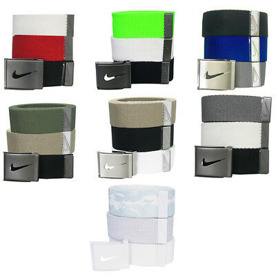 Nike 3-In-1 Web Pack Belts - One Size Fits Most