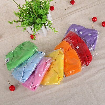 AU Reusable Newborn Infant Baby Kids Diaper PP Covers Nappy Pants Waterproof