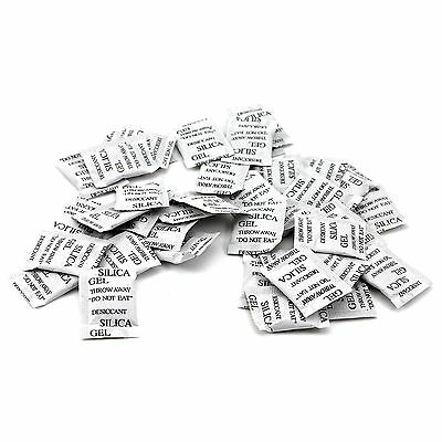 50!! Food Grade Silica Gel Desiccant Moisture Absorber Dessicant Dehumidifier