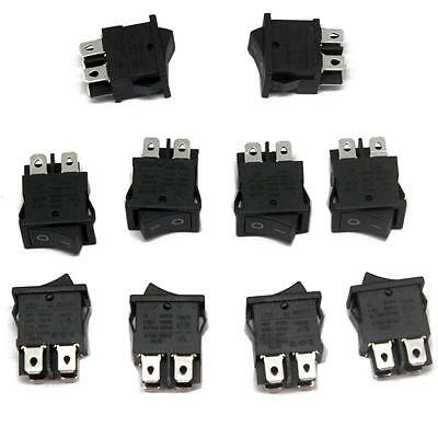 10pcs RS601D ROCKER SWITCHES 6(4)A 250VAC 6A/125A 250VAC LCD TV REPAIR