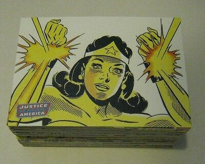 Justice League of America Archives  - Complete Trading Card Set (72) NM/M
