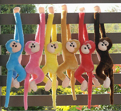 Childs Soft Cuddly Toy Cute Screech Monkey Plush Toy Doll Doll Gibbons Kids Gift