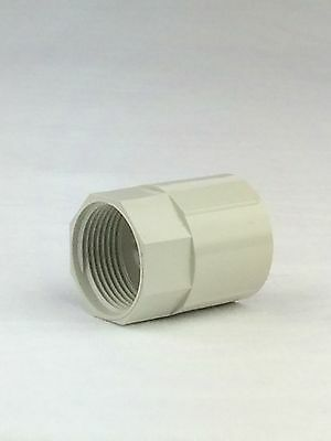 Plain to female screw coupling - 25mm(20 pcs/bag)